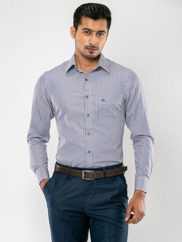Stripe Formal Shirt