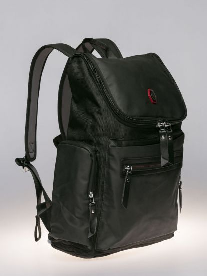 Green Exterior Backpack.