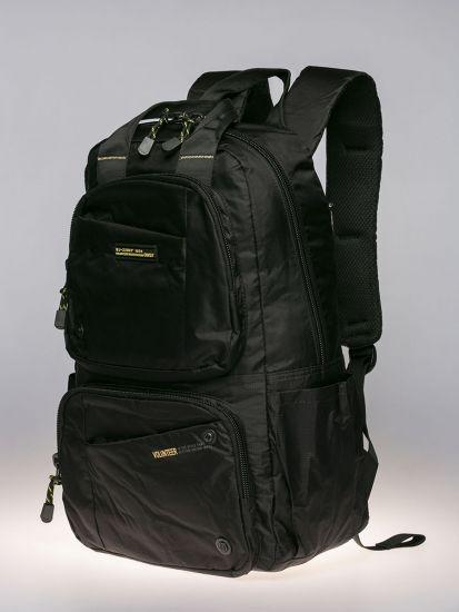 Black Exterior Backpack.