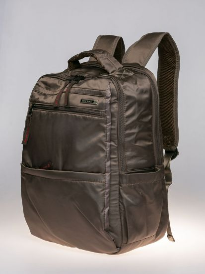 Brown exterior backpack